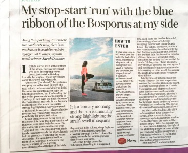 Telegraph Bosphorus article